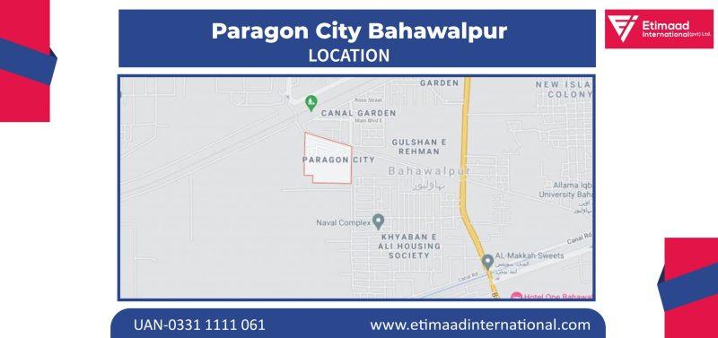 Paragon city Bahawalpur Location