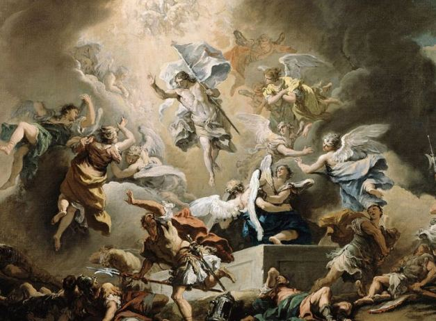 Sebastiano Ricci (1659—1734), 'The Resurrection' (detail), circa 1715. Courtesy of Wikimedia Commons