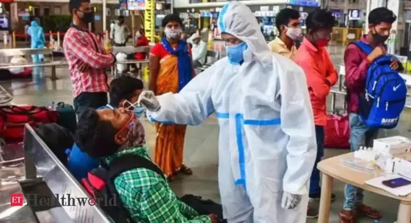 Covid-19 in India: Fresh cases at 2.94 lakh, second highest ever recorded globally – ET HealthWorld