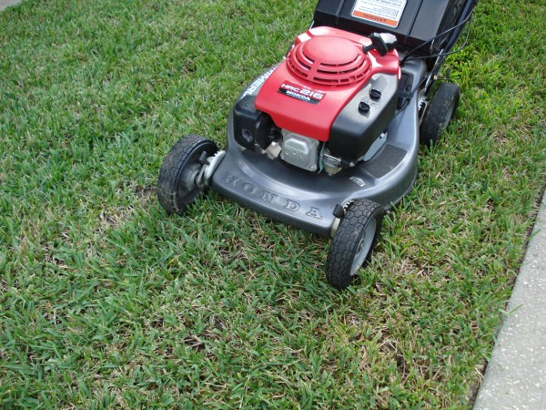 preventing ruts left lawn mowers