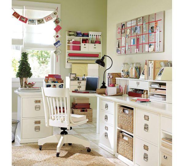 corner desk home office ideas Home Office: ideias para decorar o seu   Etiqueta que Machuca