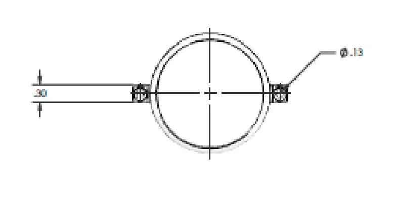 OMNI DAS Antenna Drawing