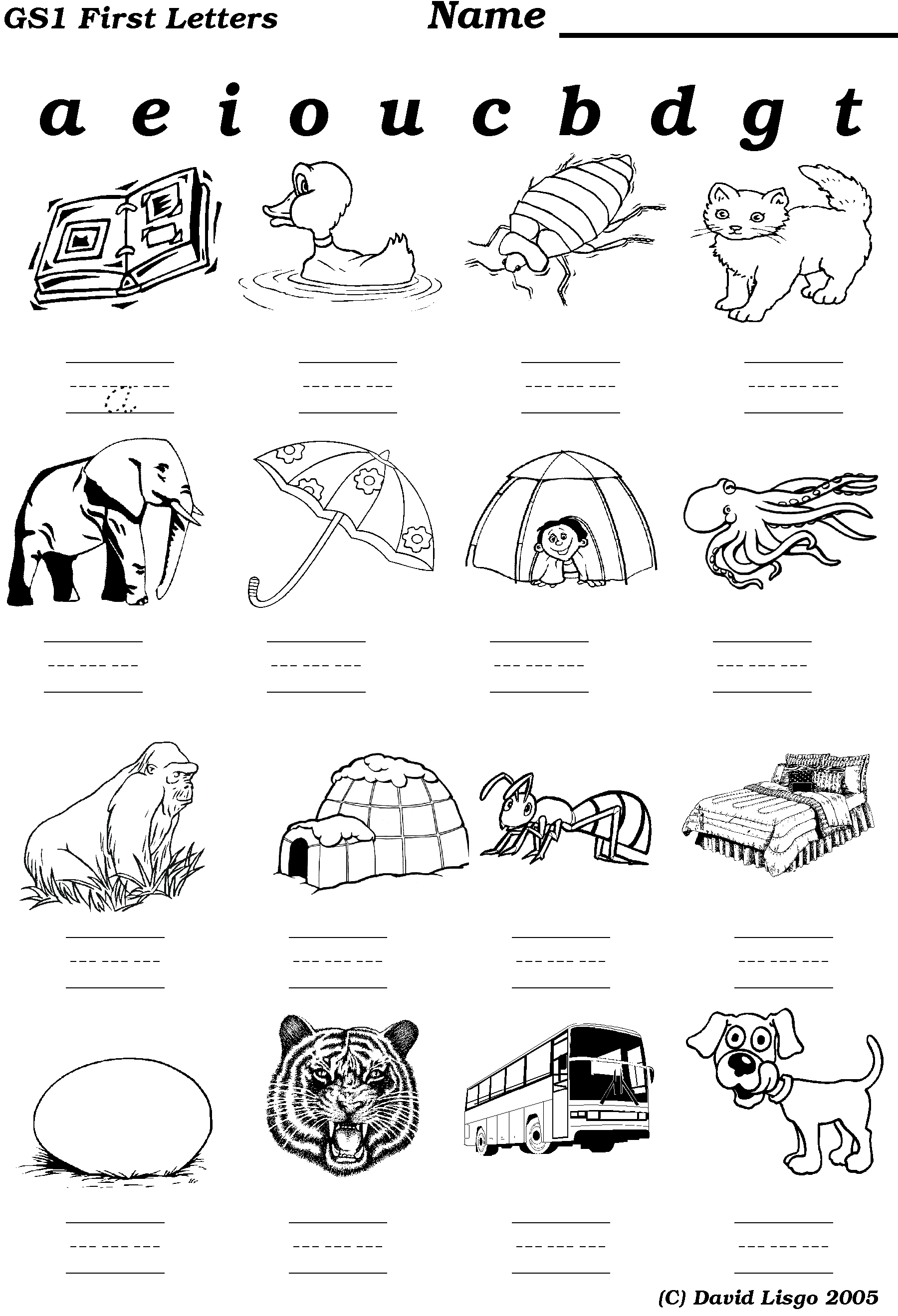 Worksheet Beginning Sound Worksheet Grass Fedjp