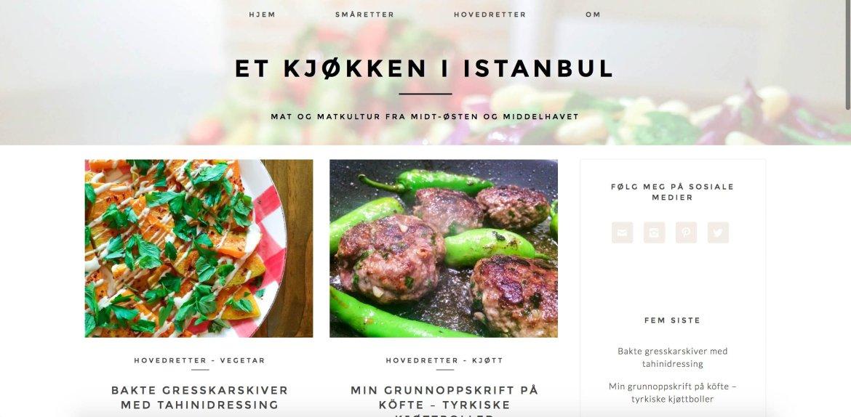 Et kjøkken i Istanbul slik det så ut da de virtuelle dørene åpnet i oktober 2015.