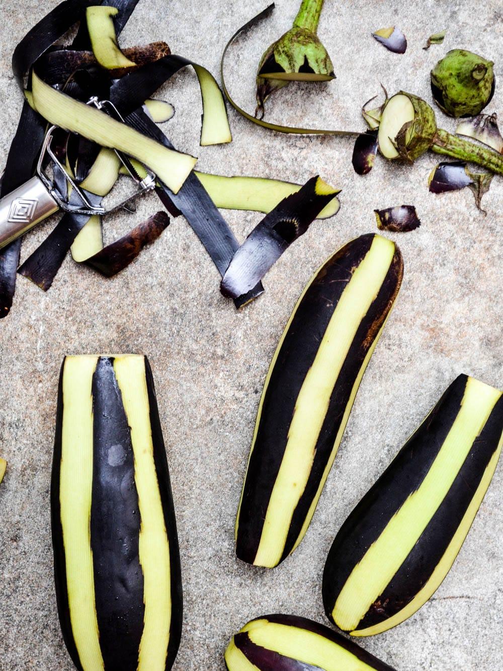 Hvordan tilberede aubergine / Et kjøkken i Istanbul