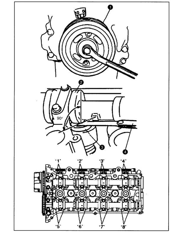 Инструкция по регулировке тепловых зазоров клапанов Suzuki