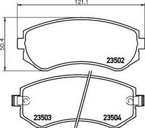 Полный обзор тормозных колодок Nissan Almera. Какие