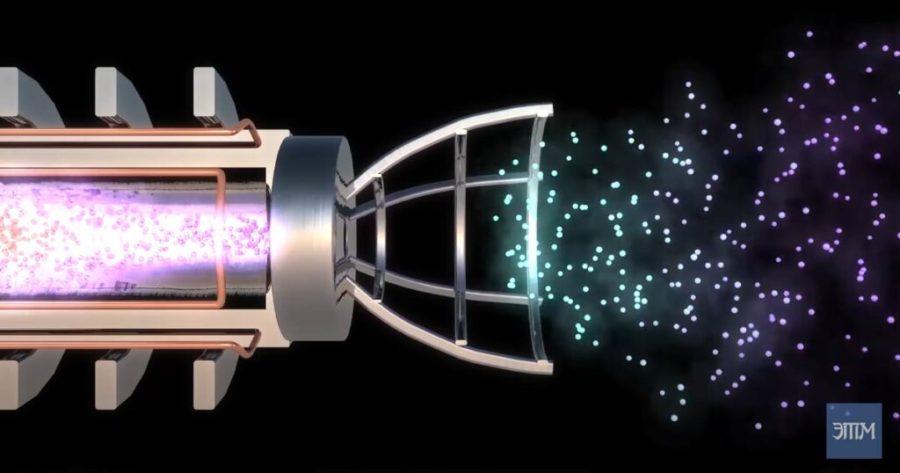 термоядерный двигатель