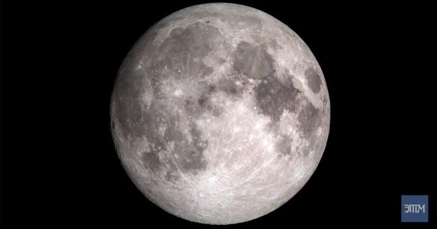 Луна в 4К