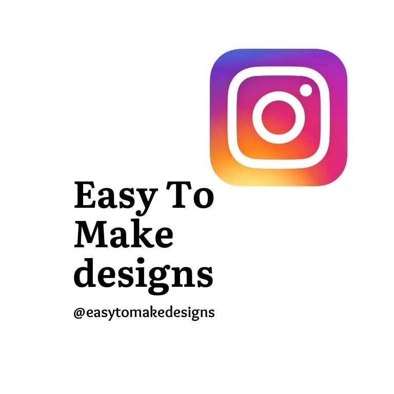 Easy to make designs Instagram