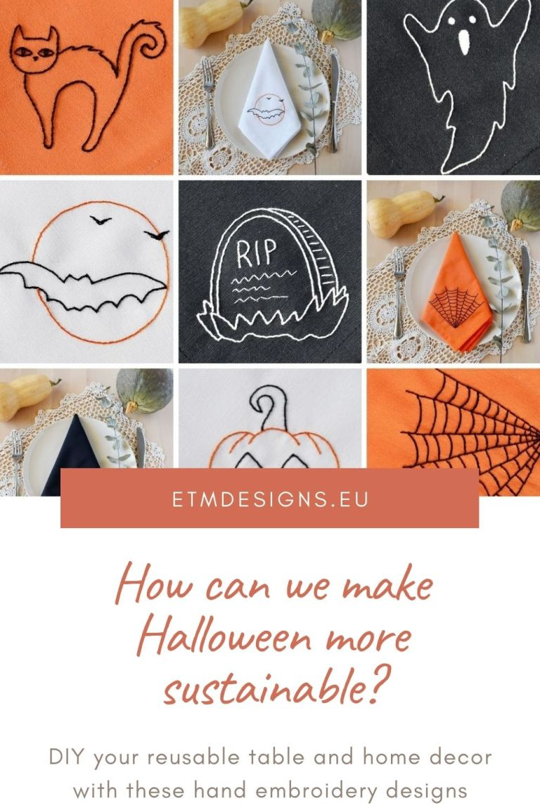 How can we make Halloween more sustainable
