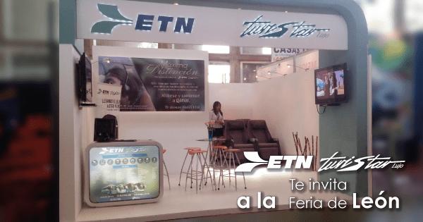 ETN Turistar Lujo presente en la Feria de León 2015