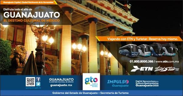 Guanajuato, el destino cultural de México.