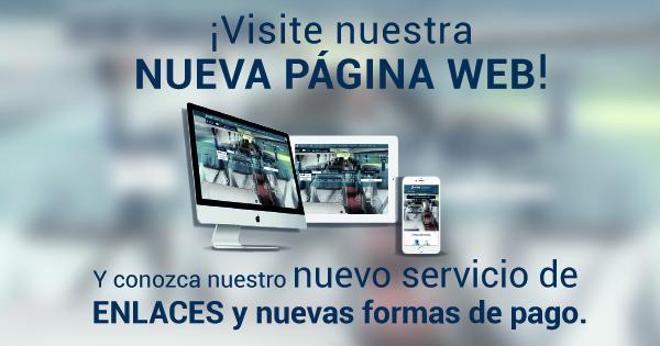 Visite nuestra nueva pagina web y conozca los nuevos servicios