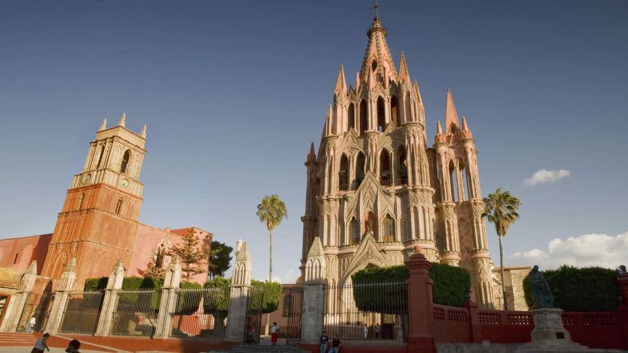san-miguel-de-allende Catedral