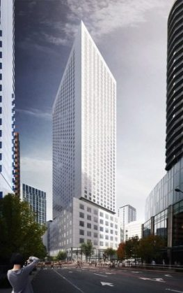 Plans for a Hyatt Regency Hotel in Seattle announced