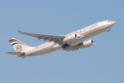 Etihad Airways goes double daily to Dublin year-round