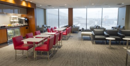 Air Canada's newest Maple Leaf Lounge opens at Newark Airport