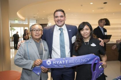 Hyatt Regency Hotel touches down at Los Angeles International Airport
