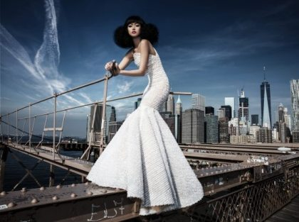AIDAluna cruise ship stars in Jessica Minh Anh's fashion show