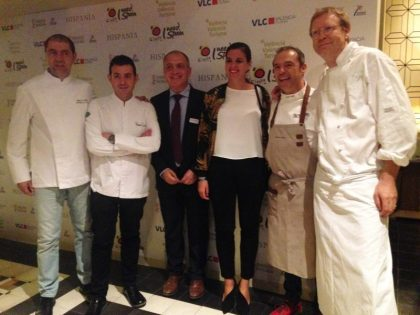 Valencia's top chefs promote city's gastronomy to UK travel trade