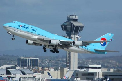 Korean Air posts record profit