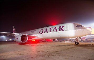 qatar airways commences scheduled airbus a350 service to london rh etn travel