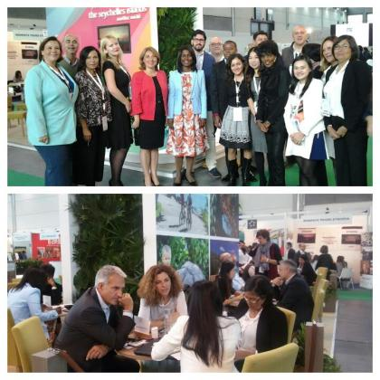 Seychelles tourism shines at Italy exhibition