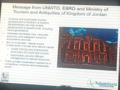 Jordan Tourism in the global spotlight at UNWTO conference in Petra