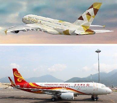 Etihad Airways and Hong Kong Airlines expand codeshare agreement