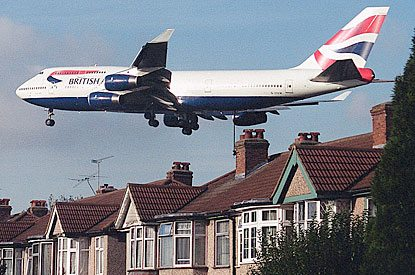 Quieter planes are Heathrow's high flyers in noise league table