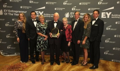 Hospitality industry icon named 2016 US Entrepreneur of the Year