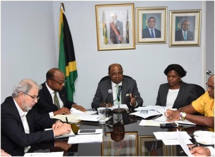 Jamaica's Tourism Minister meets with new National Cruise Council