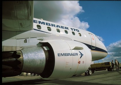 Cabot Aviation placed Embraer 170 aircraft on behalf of AerFin