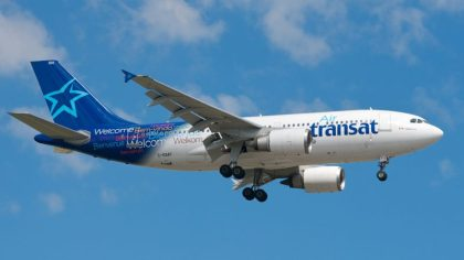 Air Transat remains one of world's leading environmentally friendly airlines