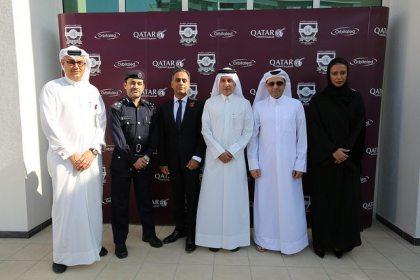 Qatar Airways opened its new Oryx International School