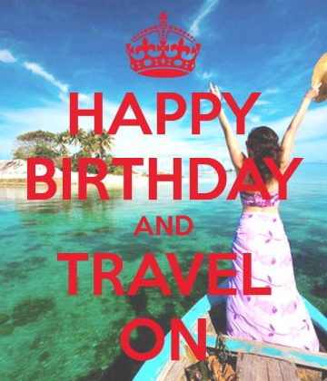 23% of Brits travel for their birthdays