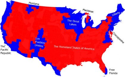 Blue and red America: Are the United States falling apart?