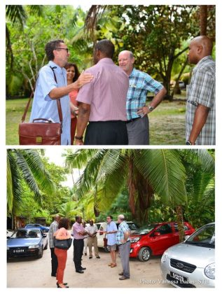 Seychelles world-renowned beachside restaurant literally on the move