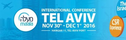 Israel's world-leading environmental innovation to be exposed at inaugural CSR conference