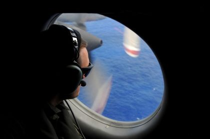 Where was the pilot when Malaysia Airlines 370 crashed?