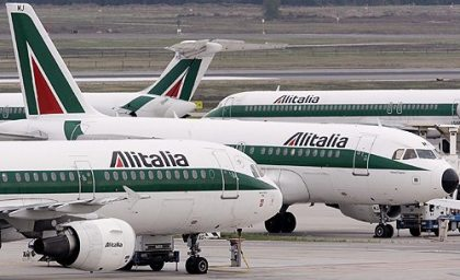 Alitalia to cancel, reduce number of European operations