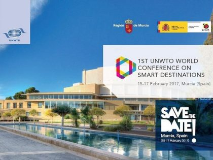 Murcia to host 1st UNWTO World Conference on Smart Destinations