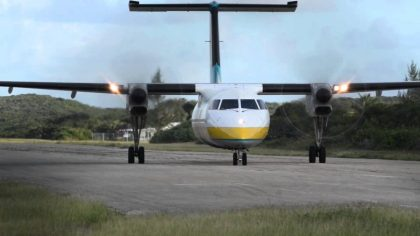 Santa brings Safarilink new Dash 8 aircraft