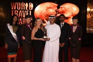 Etihad Airways wins 'World's Leading Airline' award for eighth consecutive year