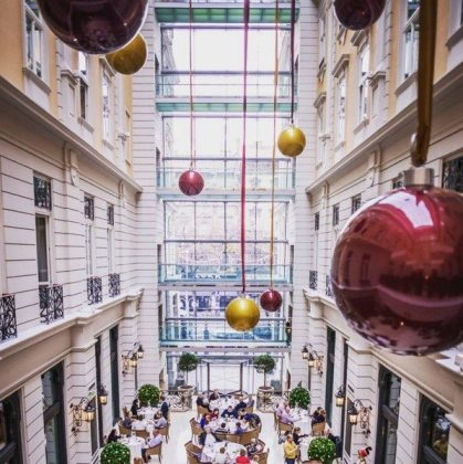 Experience the spirit of Christmas & the New Year at Corinthia