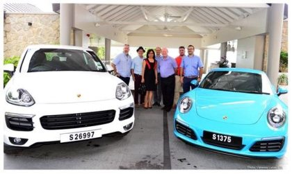 Seychelles rolls out red carpet for Porsche magazine