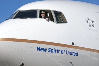 United Airlines' New Spirit in the sky set to take flight