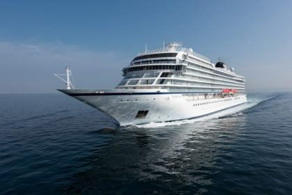 Viking Ocean Cruises takes delivery of third ship