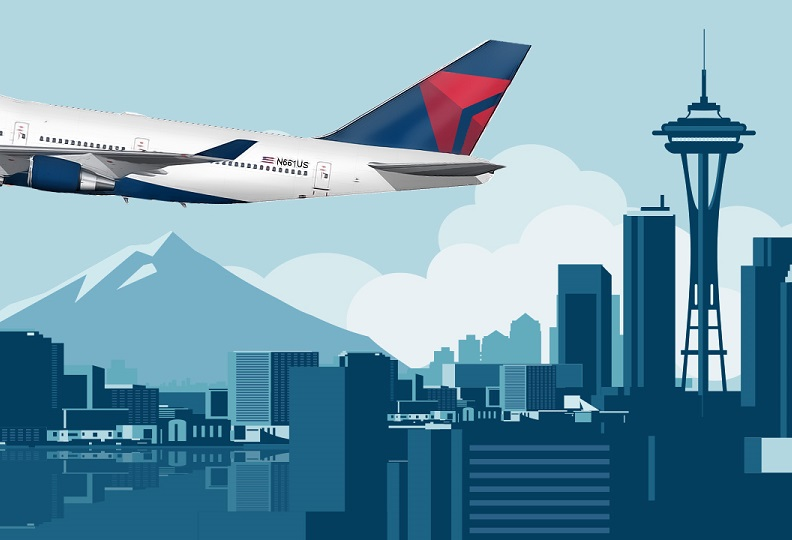 delta to begin seattle to chicago o hare service in june 2017 rh etn travel